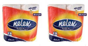 قیمت دستمال کاغذی نلکس